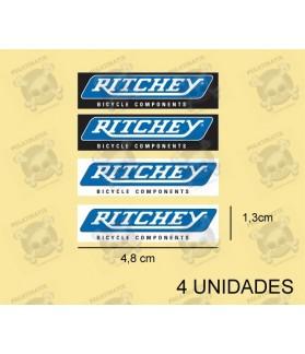 Sticker decal bike Ritchey x4