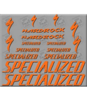 Sticker decal bike SPECIALIZED HARDROCK