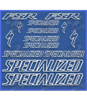 Sticker decal bike SPECIALIZED FSR