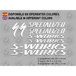 Sticker decal bike SPECIALIZED S-WORKS