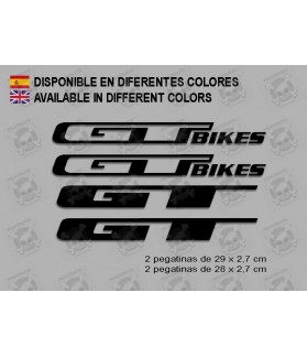 Sticker decal bike GT