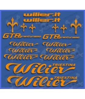 Sticker decal bike WILIER GTR