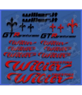 Sticker decal bike WILIER GTR II