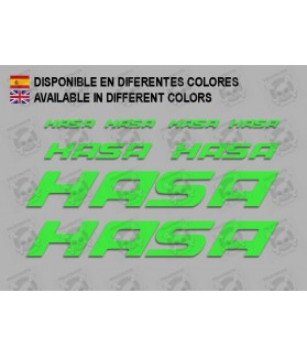 Sticker decal bike HASA