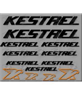 Sticker decal bike KESTREL