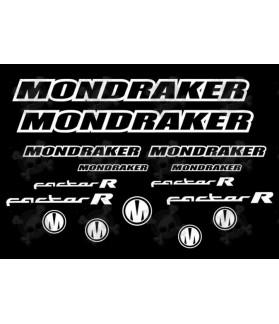 STICKER DECAL MONDRAKER FACTOR R AM11