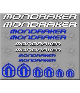 STICKER DECALS BIKE MONDRAKER SET