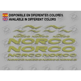STICKER DECAL SET CYCLE NORCO