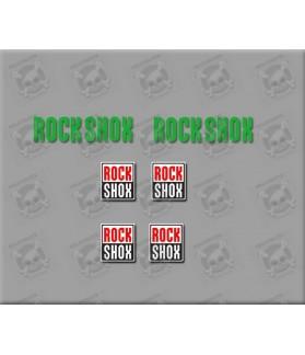 EGATINAS FORK STICKERS ROCK SHOX BIKE R294 DECAL AUFKLEBER AUTOCOLLANT ADHESIVO