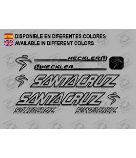 Sticker decal bike Santa Cruz HECKLER
