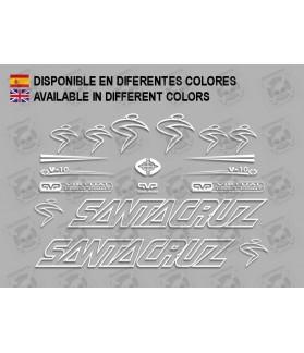 Sticker decal bike Santa Cruz V10