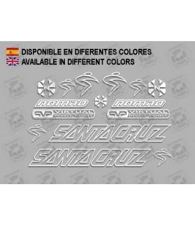 Sticker decal bike Santa Cruz NOMAD