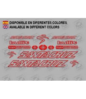 Sticker decal bike Santa Cruz BULLIT