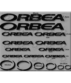STICKER DECALS BIKE ORBEA