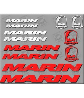 STICKER DECALS BIKE MARIN