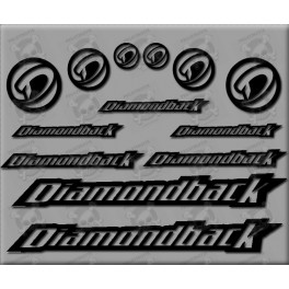 STICKER DECALS BIKE DIAMONDBACK
