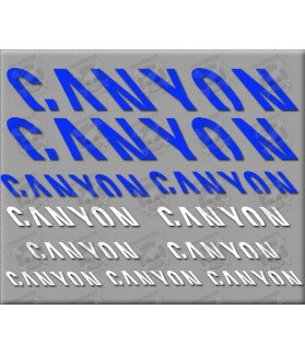 Sticker decal bike CANYON