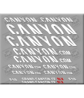 Sticker decal bike GRAN CANYON SLX