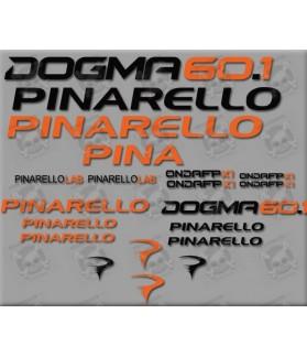 Stickers decals bike PINARELLO DOGMA