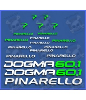 Stickers decals bike PINARELLO DOGMA 60.1