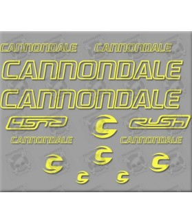 STICKER DECALS BIKE CANNONDALE