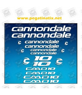 STICKER DECALS BIKE CANNONDALE CADD 10 AM28