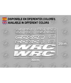 Sticker decal bike CONOR WRC