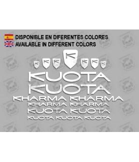 Sticker decal bike KUOTA KHARMA