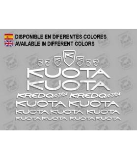 Sticker decal bike KUOTA KREDO ULTRA