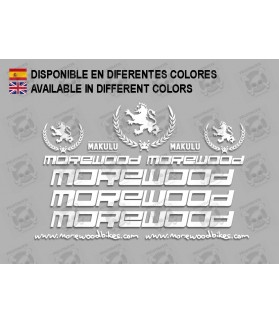 Sticker decal bike MOREWOOD MAKULU