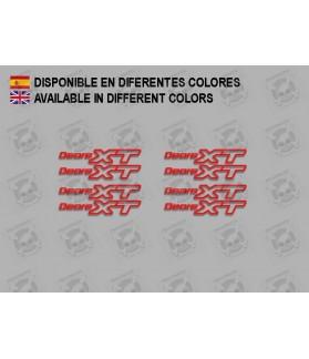 Sticker decal bike DEORE XT F209