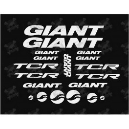 Stickers decals bike GIANT TCR AM20