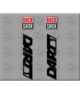 Stickers decals ROCK SHOX DART 1