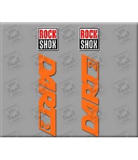 Stickers decals ROCK SHOX DART 2