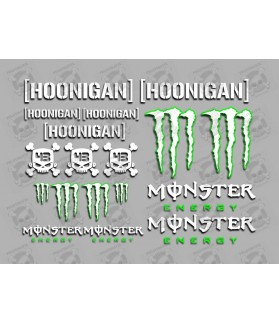 Sticker decal MONSTER ENERGY