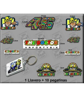 Stickers decals VALENTINO ROSSI THE DOCTOR