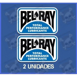 Stickers decals Motorcycle BEL RAY
