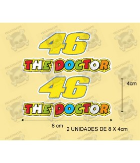 Stickers decals Motorcycle VALENTINO ROSSI