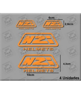 STICKERS DECALS HELMET NZI