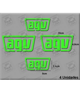 STICKERS DECALS HELMET AGV
