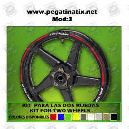 Wheel Rims Sticker Decal Aufkleber Autocollant Vinyl Adesivi Triumph