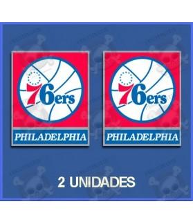 Stickers decals Sport 76ers PHILADELPHIA