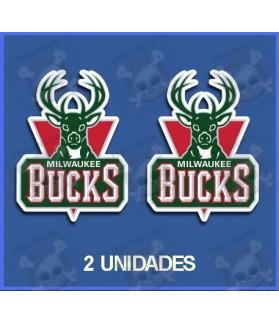 Stickers decals Sport MILWAUKEE BUCKS