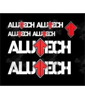 STICKER DECALS ALUTECH