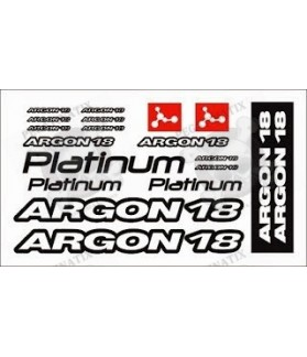 STICKER DECALS ARGON 18