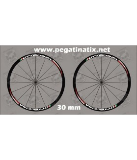 Sticker decal bike wheel rims BOTTECHIA