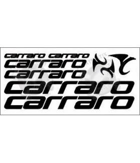 STICKER DECALS BIKE CARRARO