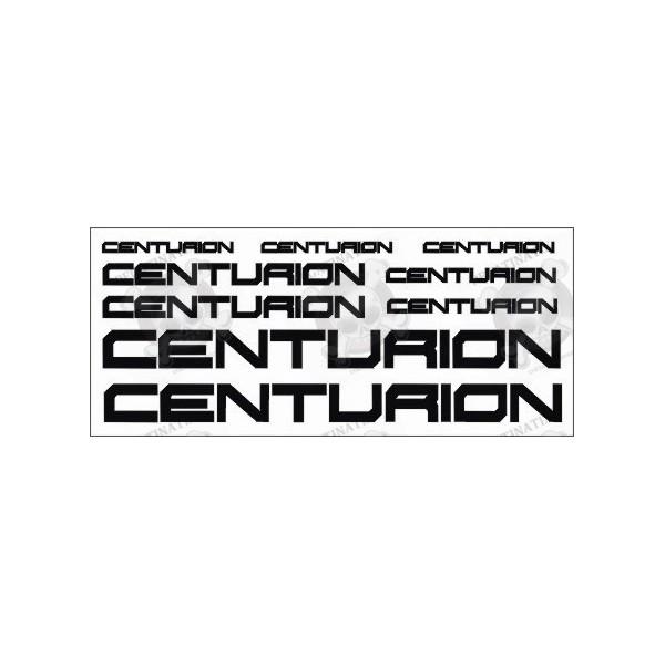 Sticker decals bike centurion