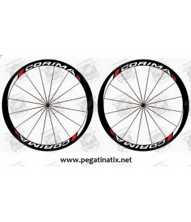 Sticker decal bike wheel rims CORIMA