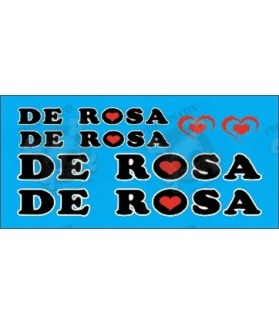 Sticker decal bike set DE ROSA UNIVERSAL